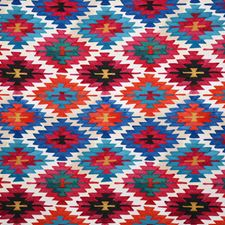 Jewel Ethnic Drapery and Upholstery Fabric by Pindler