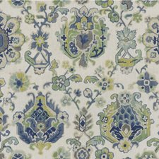 Ultramarine Botanical Drapery and Upholstery Fabric by Kravet