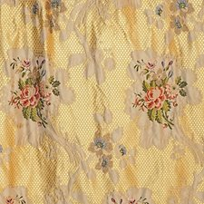 Yellow Drapery and Upholstery Fabric by Scalamandre