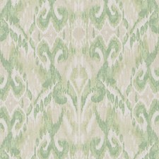 Green Ethnic Drapery and Upholstery Fabric by Duralee