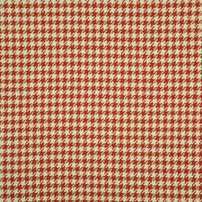Vintage Red Drapery and Upholstery Fabric by Maxwell