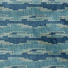 Aqua/Blue Contemporary Drapery and Upholstery Fabric by Groundworks
