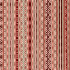 Cherry Stripe Drapery and Upholstery Fabric by Duralee