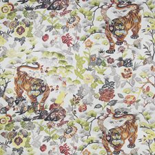 Foliage Animal Drapery and Upholstery Fabric by Kravet