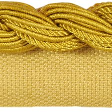 Cord With Lip Mustard Trim by Kravet