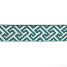 Tapes Turquoise Trim by Brunschwig & Fils