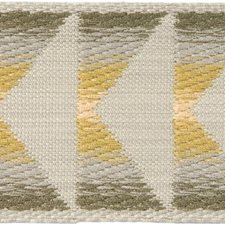 Braids Beige/Grey/Yellow Trim by Groundworks