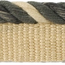 Cord With Lip Black/Beige Trim by Groundworks