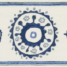 Tapes Blue/Navy Trim by Lee Jofa