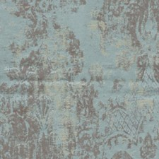 Powder Blue Drapery and Upholstery Fabric by RM Coco