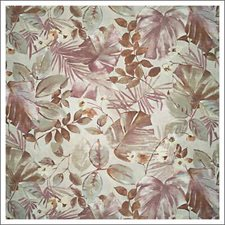 Pink/Beige Tropical Drapery and Upholstery Fabric by Kravet