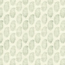 Celadon Paisley Drapery and Upholstery Fabric by Kravet
