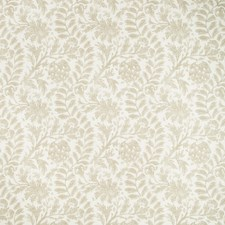 Sand Botanical Drapery and Upholstery Fabric by Kravet