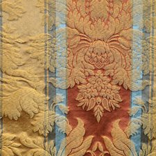 Gold Multi Drapery and Upholstery Fabric by Scalamandre