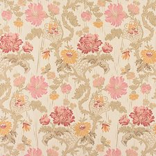 Geranium Drapery and Upholstery Fabric by Scalamandre