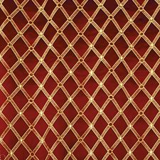 Cherry Gold Drapery and Upholstery Fabric by Scalamandre