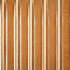 Rust Stripe Drapery and Upholstery Fabric by Pindler