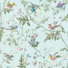 Blue Multi-Colour Wallcovering by Cole & Son Wallpaper