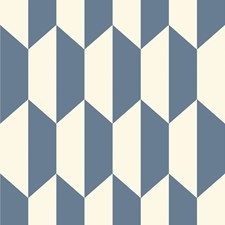 Blue and White Print Wallcovering by Cole & Son Wallpaper