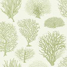 Soft Green Print Wallcovering by Cole & Son Wallpaper