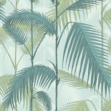 Print Room Blue/Mint Botanical Wallcovering by Cole & Son Wallpaper