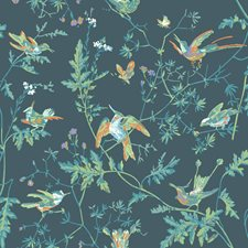 Viridian Wallcovering by Cole & Son