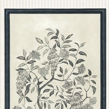 Charcoal/Parchment Botanical Wallcovering by Cole & Son Wallpaper