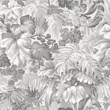 Warm Grey Botanical Wallcovering by Cole & Son Wallpaper