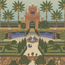 Terracotta/Spring Gr/Multi Global Wallcovering by Cole & Son Wallpaper