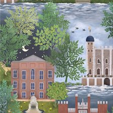 Lgrn/Ter/Pet Novelty Wallcovering by Cole & Son Wallpaper