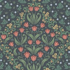 Ro/Fgrn/Char Botanical Wallcovering by Cole & Son Wallpaper