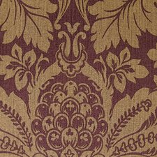 Purple/Yellow/Gold Traditional Wallcovering by JF Wallpapers