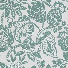 Green Traditional Wallcovering by JF Wallpapers