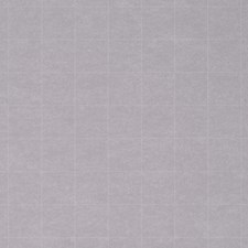 Plaid White on Grey Wallcovering by Phillip Jeffries Wallpaper