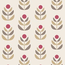 Red Transitional Wallpaper Wallcovering by Brewster