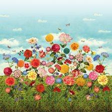341085 Wild Flowerland Mural by Brewster