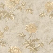 414-54263 Carmela Silver Floral by Brewster