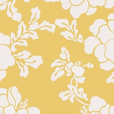 Maize Floral Wallcovering by Stroheim Wallpaper
