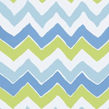 Turquoise Lime Geometric Wallcovering by Stroheim Wallpaper