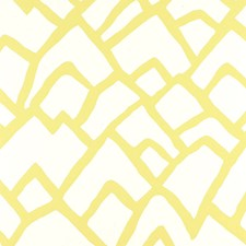 Soft Chartreuse Wallcovering by Schumacher Wallpaper