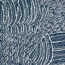 Marine Wallcovering by Schumacher Wallpaper