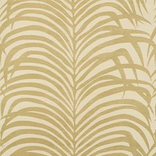 Gold On Ivory Wallcovering by Schumacher Wallpaper