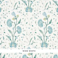 Peacock Wallcovering by Schumacher