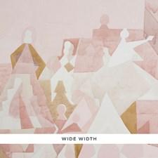 Rose/Camel Wallcovering by Schumacher Wallpaper