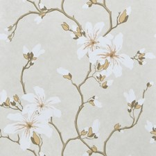 Alabaster Floral Wallcovering by Fabricut Wallpaper