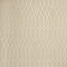 Mocha Geometric Wallcovering by Fabricut Wallpaper