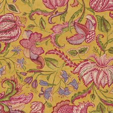 Multi/Yellow/Gold Traditional Wallcovering by JF Wallpapers