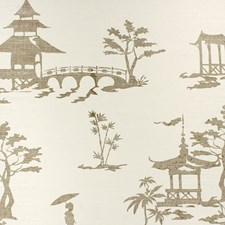 Gold Wallcovering by Phillip Jeffries Wallpaper