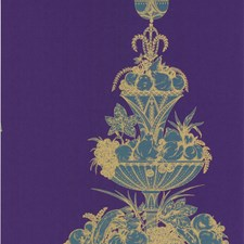 Gold/Violet Wallcovering by Cole & Son Wallpaper