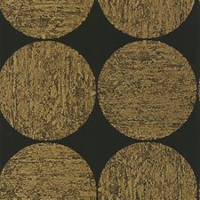 Gold/Onyx Wallcovering by Cole & Son Wallpaper